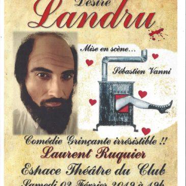 Prochaine pièce de théâtre samedi 2 février à 19 h